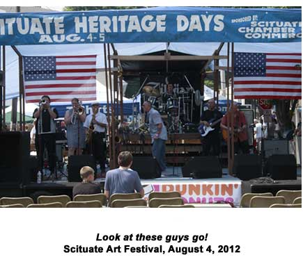 All Starz at Scituate Arts Festival, 2012